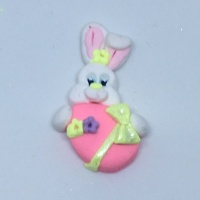 Easter Bunny and egg - pink